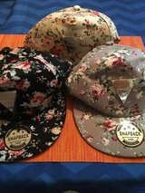 Floral and print hats in Conroe, Texas