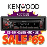 KENWOOD CAR STEREO USB in Miramar, California