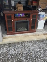 Entertainment Center w/ Built-In Electric Fireplace in Dover, Tennessee