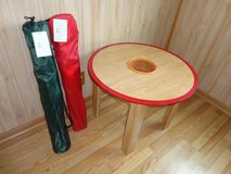 2 Brand New Chairs Green And Red With Carry Bag in Naperville, Illinois