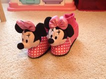 Minnie Mouse Slippers Size 9-10 (Toddler) in Beaufort, South Carolina