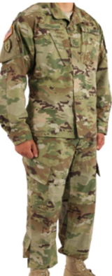 Practically New Army ACU Uniform (Pants and Jacket) in Fort Leavenworth, Kansas