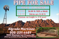 Steel Pipe for Fence in Alamogordo, New Mexico