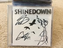 Signed Shinedown CD in 29 Palms, California