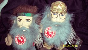 DUCK DYNASTY SQUEEZE MY BELLY~UNCLE SI ROBERTSON & WILLIE DOLL-TALK in Fort Riley, Kansas