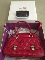 Red Coach Purse with sunglasses in Lake Elsinore, California