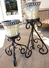 2 Candle Holders with Shades in Conroe, Texas