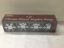 Snowflakes Napkin Ring Holders in The Woodlands, Texas