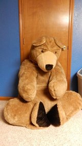 3 feet tall  by 3 feet wide Stuffed Animal Brown Bear in Fort Leonard Wood, Missouri