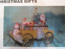 San Franciso Music Box Co. Christmas Cart-NEW in Box in Beaufort, South Carolina