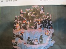 San Francisco Music Box Co. Double Rotating Penguins-NEW in Box in Beaufort, South Carolina