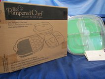 Pampered Chef Cook & Serve 6pc. Square Tray set #2292-NEW in box in Beaufort, South Carolina