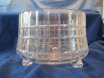 "Sorelle Square-cut Heavy Crystal Footed Bowl 8""H x 12""W. NEW in BOX in Beaufort, South Carolina"