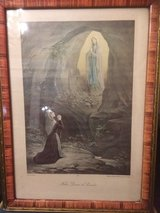 "Nice holy picture "" Notre Dame de Lourdes"" from France in Ramstein, Germany"