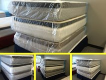 Full Size Pillow Top Mattresses - Brand New - High Quality & Warranty!! in Providence, Rhode Island