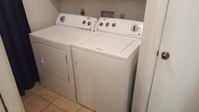 Whirpool Washer and Dryer in Fort Sam Houston, Texas