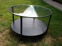 round glass coffee table in Fort Lewis, Washington