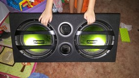 Fusion 12 in subwoofers in 29 Palms, California