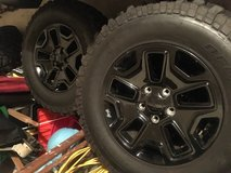 5 Jeep Willys Series Wheels & Tires Set in Plainfield, Illinois