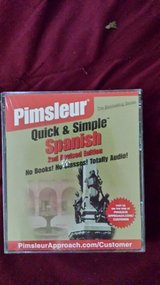 Pimsleur Quick & Simple Spanish 2nd revised edition in Macon, Georgia