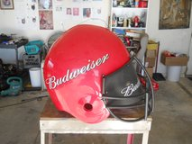 Extremely large Budwiser Helmet in Yucca Valley, California
