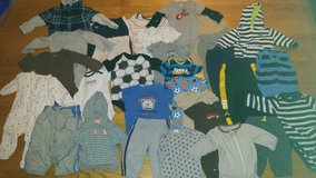 6 month boy clothes lot in Naperville, Illinois