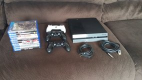 PS4 With 10 Games & 3 Controllers in Fort Lewis, Washington