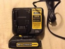 DeWalt battery and charger in Fort Lewis, Washington