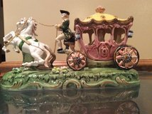 Porcelain -- Horse & Carriage 1948 --Japan in Bolingbrook, Illinois
