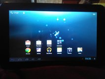 Android tablet in Fort Lewis, Washington
