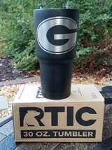 30 oz Stainless Steel Rtic Tumbler with 1 label in Macon, Georgia