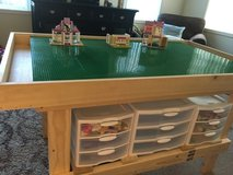 Lego Table in Fort Drum, New York