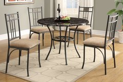 NEW 5 PC DINE SET GREAT QUALITY CLEARANCE PRICE in 29 Palms, California