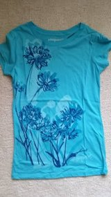 Aeropostle Tee - Teal with Pattern - Size M in Joliet, Illinois