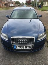 Audi A6 S-Line 2l Auto FSH in Lakenheath, UK