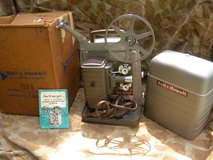VINTAGE BELL & HOWELL MODEL 253 A 8MM MOVIE PROJECTOR in Camp Lejeune, North Carolina