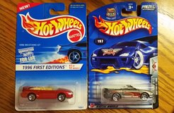 2 Hot Wheels Ford Mustangs - Special/Limited Editions in Quantico, Virginia