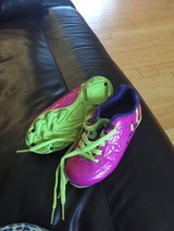 Toddler girl soccer shoes sz. 8 in Lockport, Illinois
