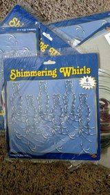 Opalescent Shimmering Whirls (6/pkg)  Party Decorations NEW in Bolingbrook, Illinois