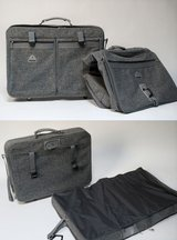 2 Piece Samsonite Classic Grey Tweed Luggage in St. Charles, Illinois
