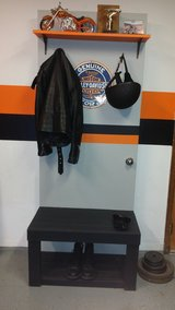 Harley Davidson Coat and Helmet Rack in Lawton, Oklahoma