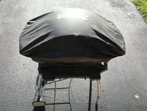 Weber Q Series 2400 Electric Grill w/cover & stand!! in Naperville, Illinois