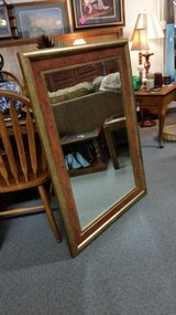 Large mirror in Fort Leonard Wood, Missouri