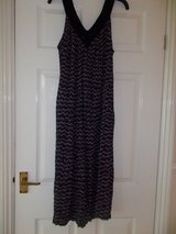 Ladies Dress Size 12 Bonmarche Black non iron NWOT in Lakenheath, UK