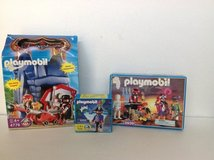 PLAYMOBIL PIRATES PLAY SETS ( 3 qty. ) in Lockport, Illinois
