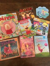 Little Girl's Book Lot [Olivia/Pinkalicious] in Beaufort, South Carolina