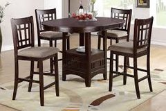 Tall Table Top with 4 Chairs in Fort Irwin, California