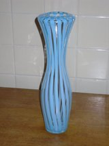 "12"" striped vase in Glendale Heights, Illinois"