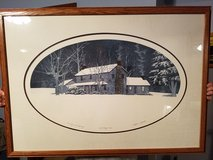 An Early Winters Morning by Stephen Sebastian. Signed. Artists Proof. Frame 28 1/2 × 40 in Cadiz, Kentucky