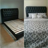 BRAND NEW Queen bed and mattress in Naperville, Illinois